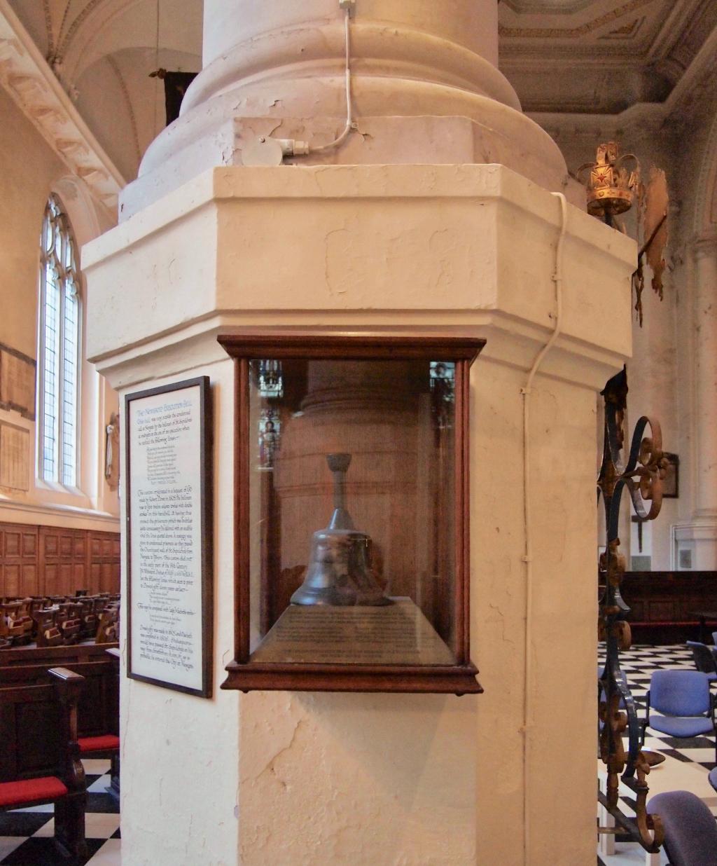 My London Walks: Newgate Execution Bell